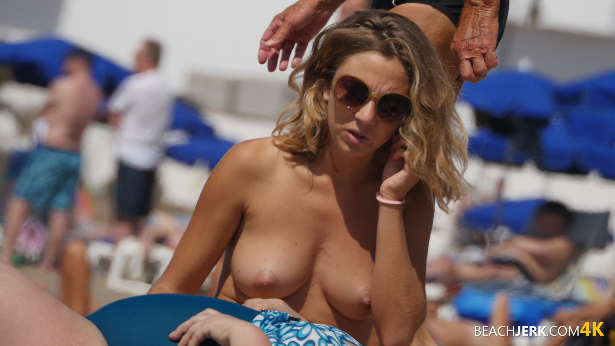 Topless beach videos #6