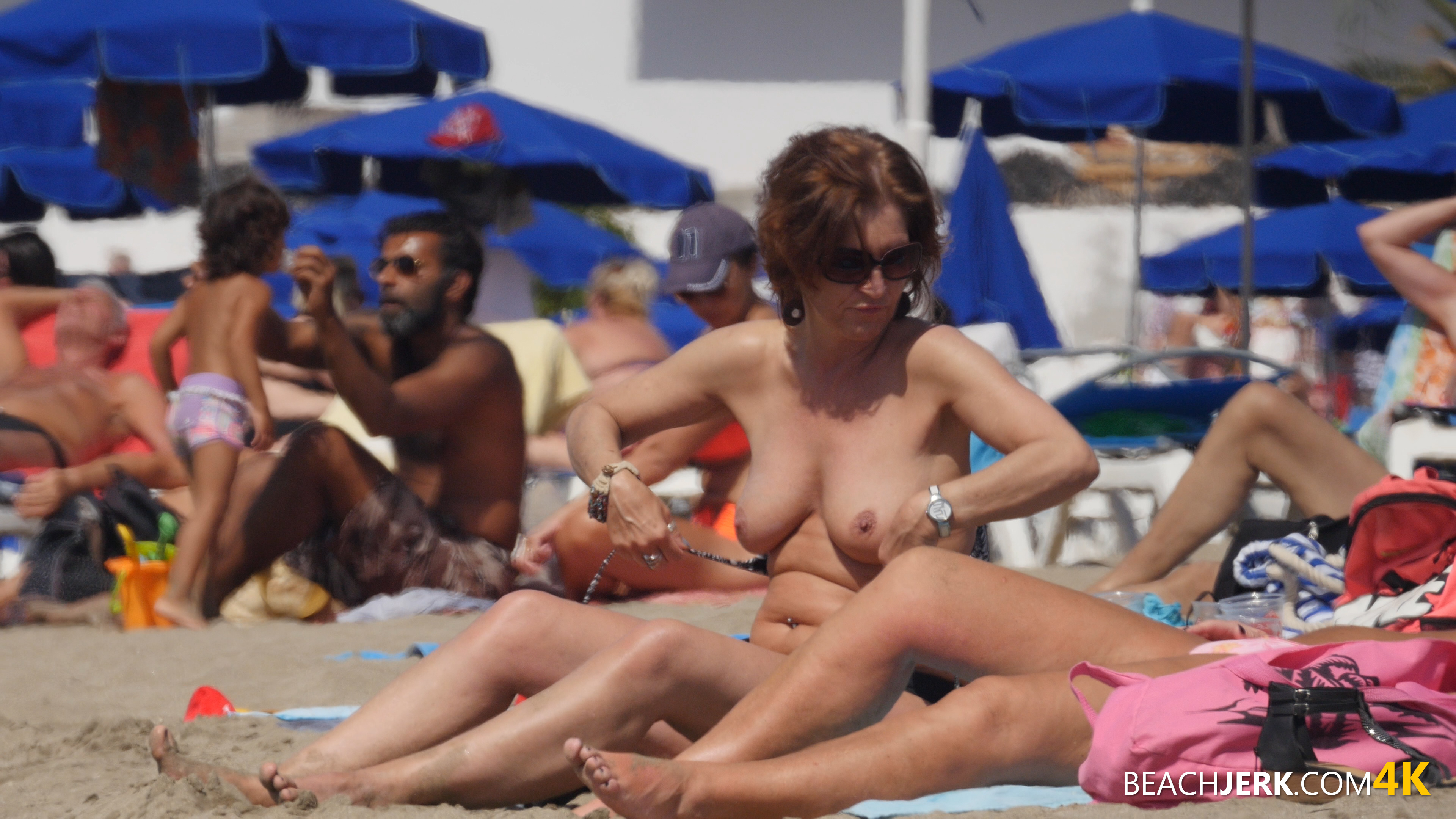 Topless beach videos #10