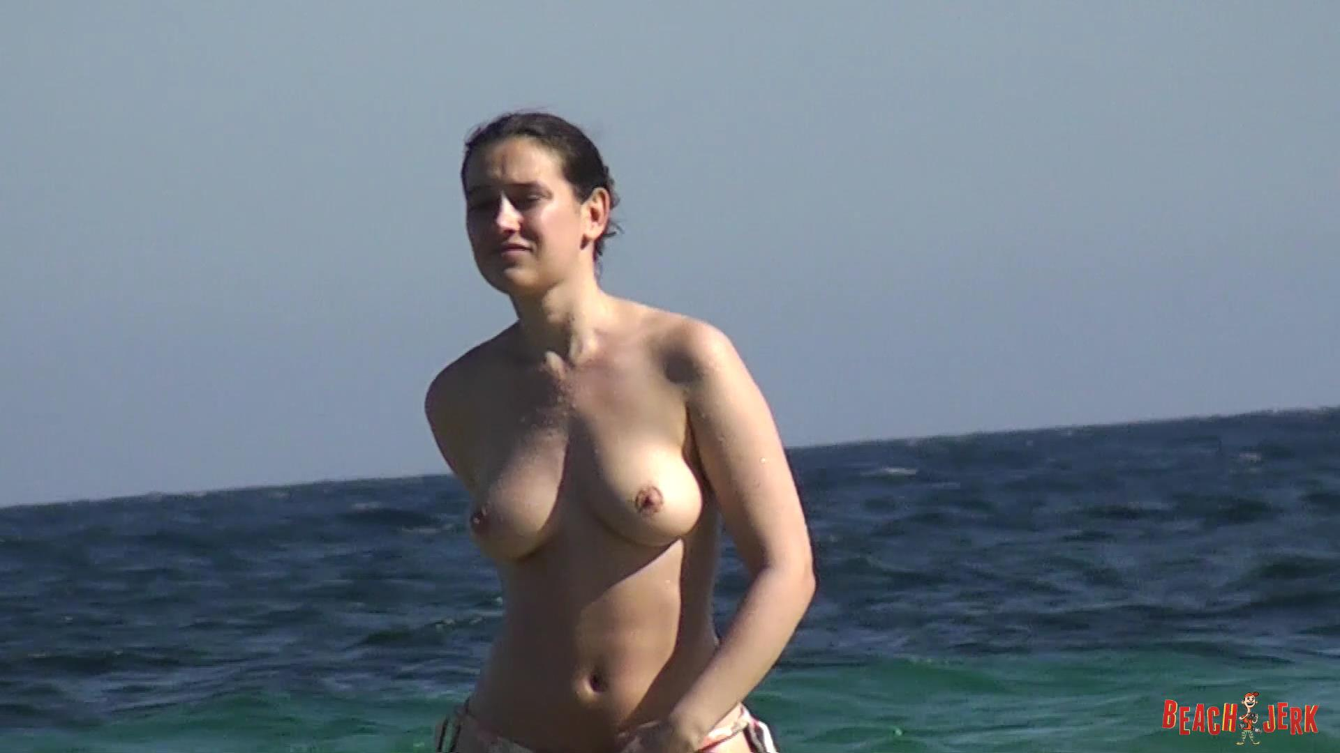 Topless beach compilation
