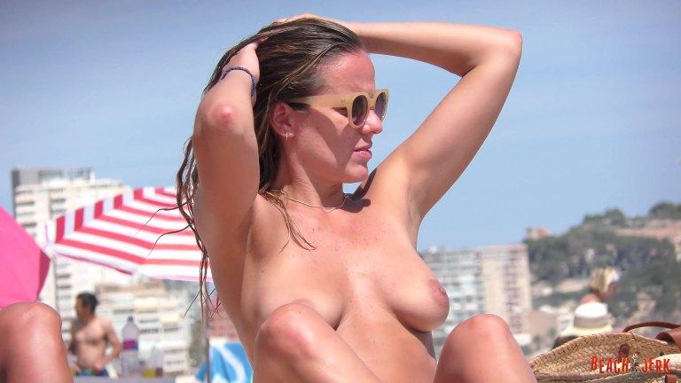 Topless Beach Compilation Vol49 - Beach Jerk-3122